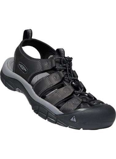 Keen Keen Newport Erkek Sandalet Siyah Siyah